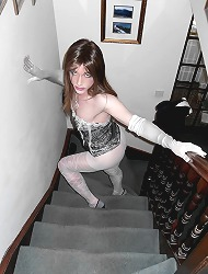 Sexy tgirl slut kirst is..